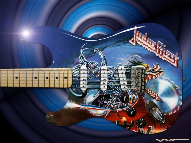 Las portadas de Judas Priest