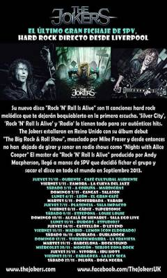 cartel-conciertos-The-Jokers-Gira-Española