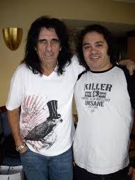 Sergio Martos y Alice Cooper