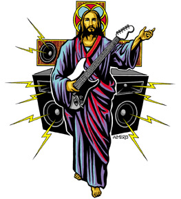guitar-christian-sticker